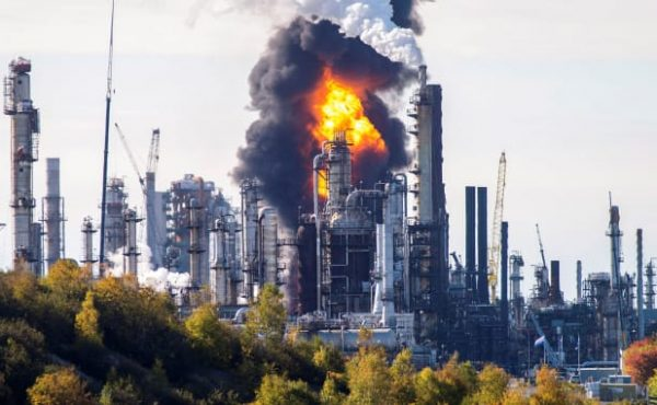 Explosion Reported at Irving Oils St John Refinery Candads